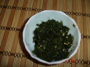 Green chutney  Ragda Patties DSC01577 300x225