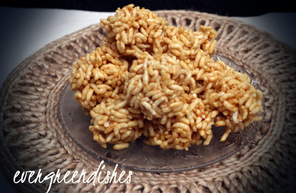 puffed rice balls  Puffed rice balls aka Gujarati Mamra na ladoo puffed rice balls3 1024x667