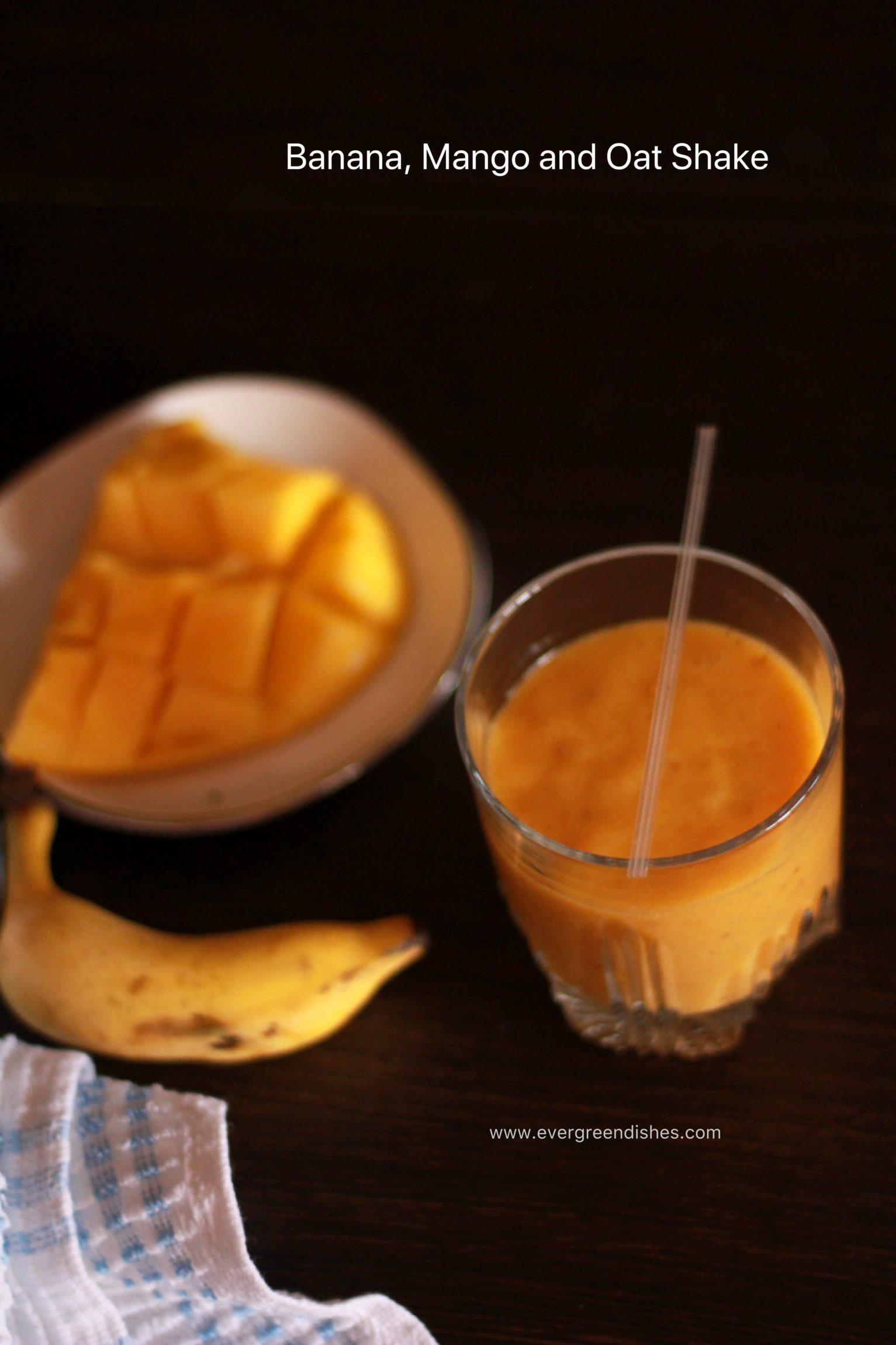 banana mango oat shake milkshake Banana  Mango Oat Shake banana mango milkshake 1533x2300