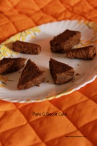 Parle G biscuit cake parle g biscuit cake Biscuit cake recipe   Parle G Biscuit Cake biscuit cake1 200x300